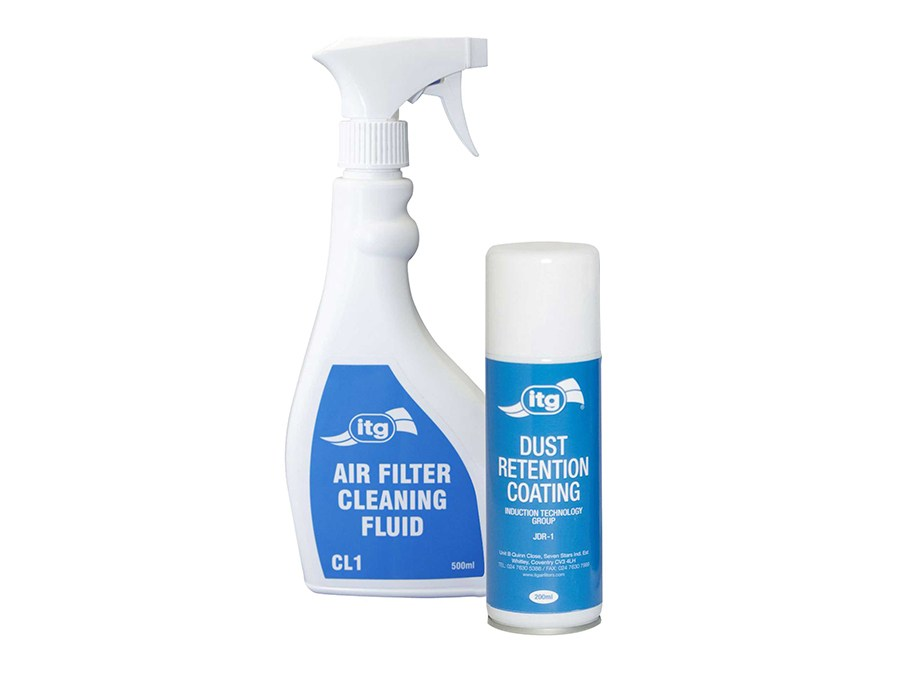 ITG Air Filter Cleaning Kit (500ml Cleaner & 200ml JDR-1)