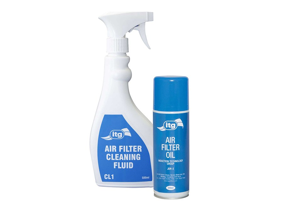 ITG Air Filter Cleaning Kit (500ml Cleaner & 200ml JDR-2)